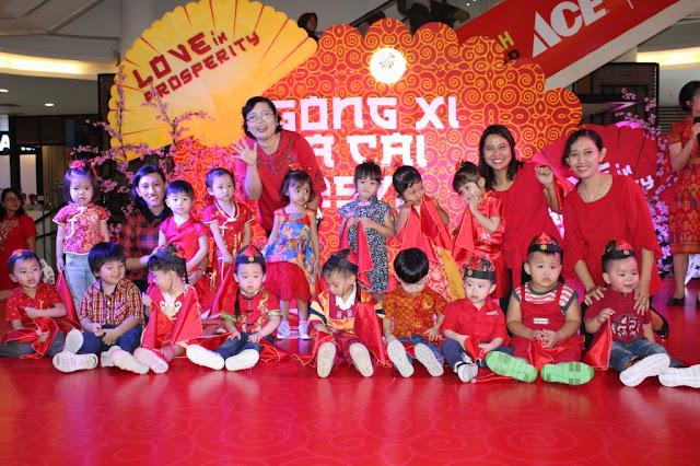 KB-TK Kristen Kalam Kudus Surakarta Ikuti Event Imlek 2019 di Solo Square
