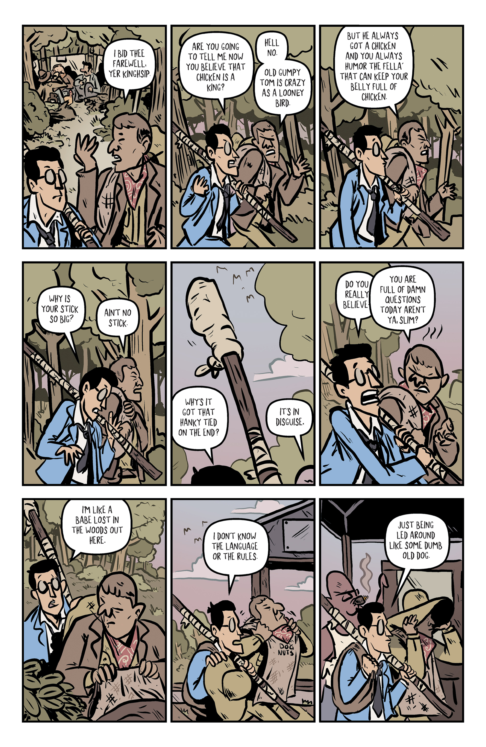 Read online Rock Candy Mountain comic -  Issue #2 - 10