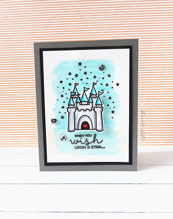 Sweet Stamp Shop Castle Card