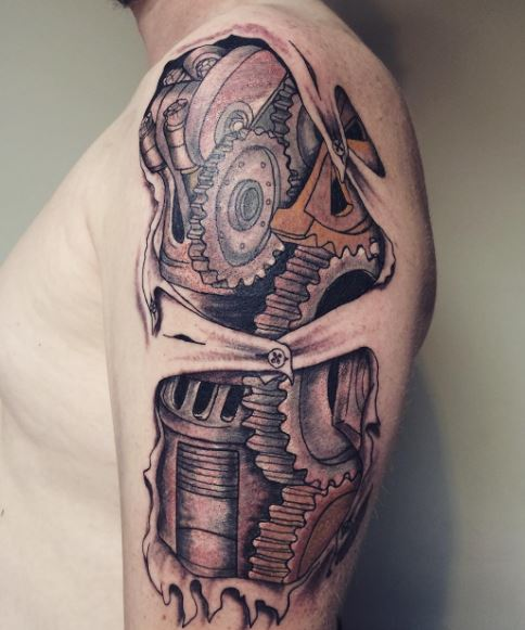 biomechanical Tattoos