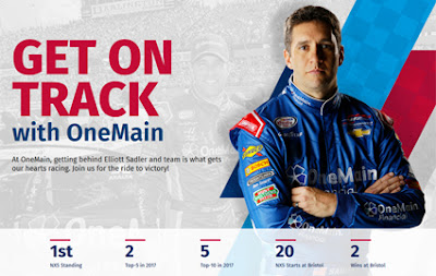 Xfinity Points Leader, Elliott Sadler and the OneMain Financial team earned their fifth consecutive top-10 finish in the My Bariatric Solutions 300 at Texas Motor Speedway.