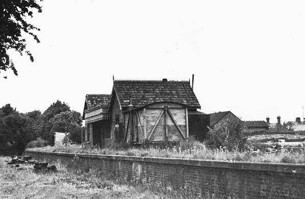 Former Ramsey East Railway Station - circa 1960s  (From Disused Stations website)
