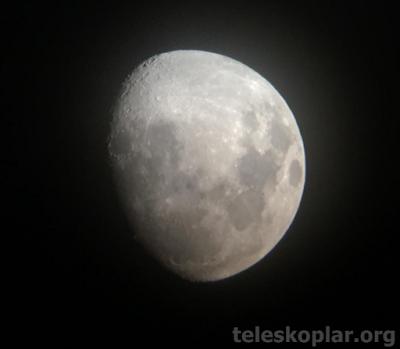 Meade polaris 114 eq ay gözlemi