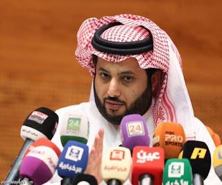 رئيس هيئة الرياضة تري آل الشيخ