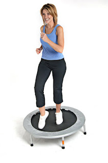 When you use a mini trampoline for exercise, every cell in your body benefits from each brief, simple rebounder workout, making you healthy and stronger.