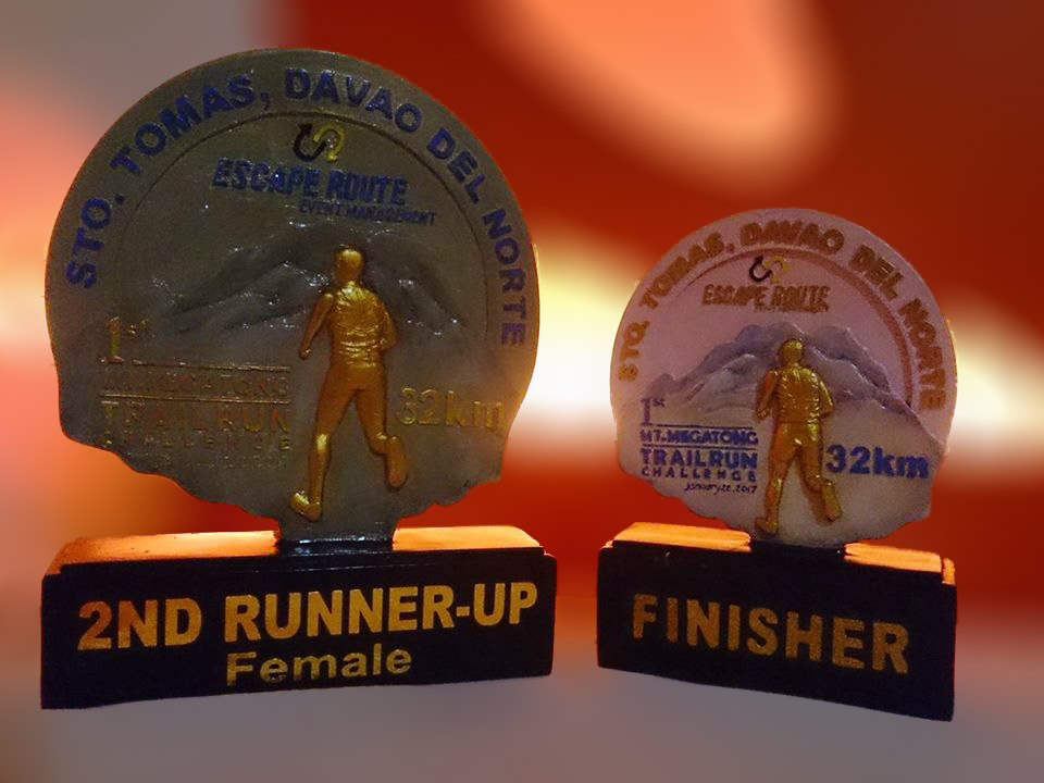 Mt Megatong Trail Run Challenge, Mt Megatong, Sto Tomas Davao del Norte