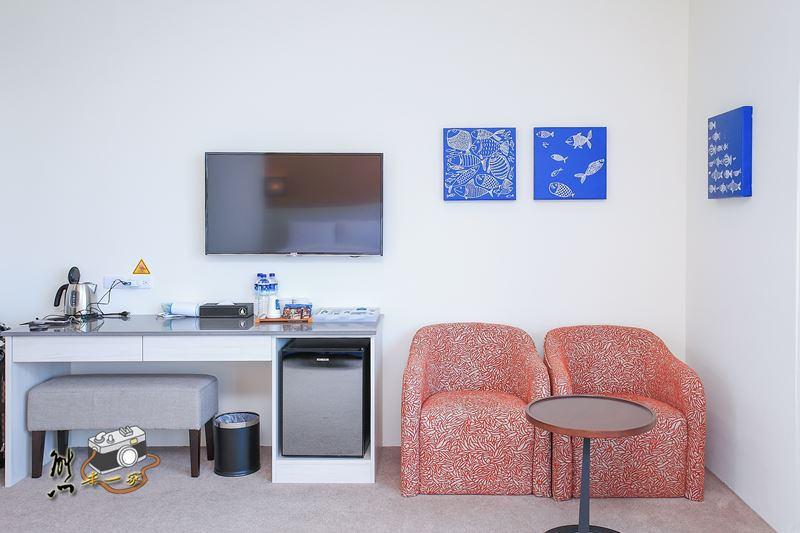 嘉義親子海景房住宿|布袋文創HOTEL|家庭親子房型|布袋住宿