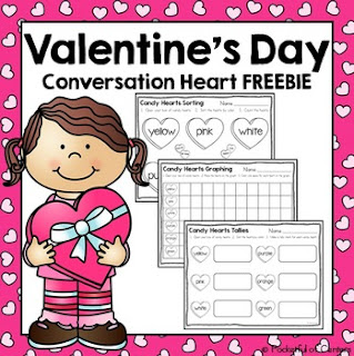 February Teaching Resources from Reading and Writing Redhead - ideas for Valentine's Day, Groundhog Day, Mardi Gras, 100s Day and mor!