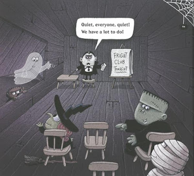 picture book Halloween Fright Club Ethan Long