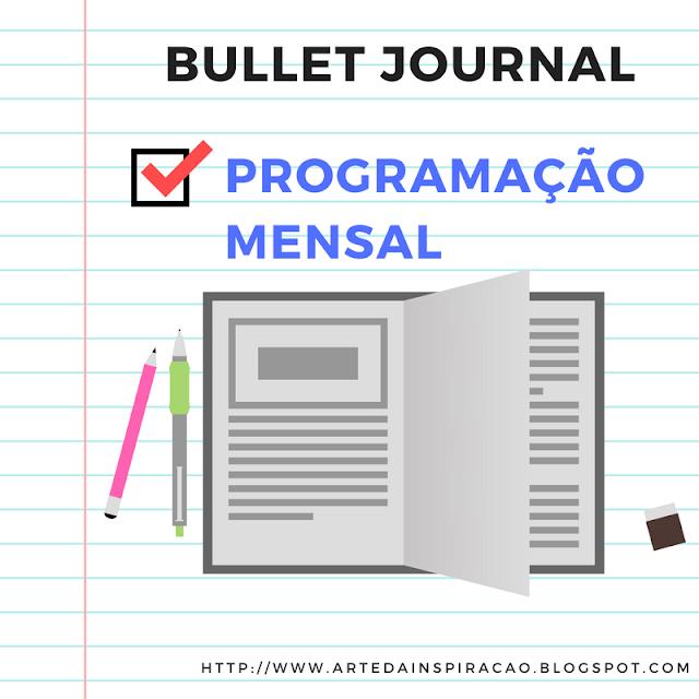 bullet, journal, programação, mensal, organizar, organização,