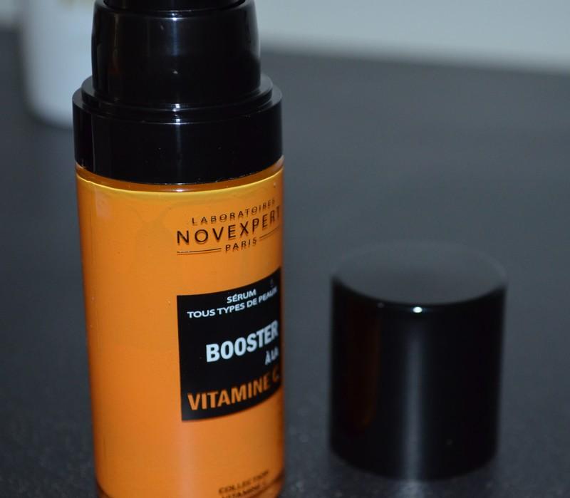 Sérum booster à la vitamine C des Laboratoires Novexpert