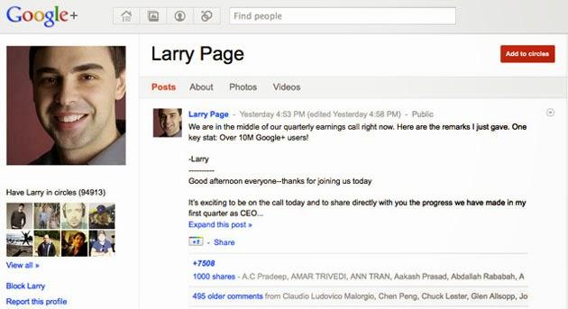 Bỏ yêu cầu dùng tên thật trong Google+