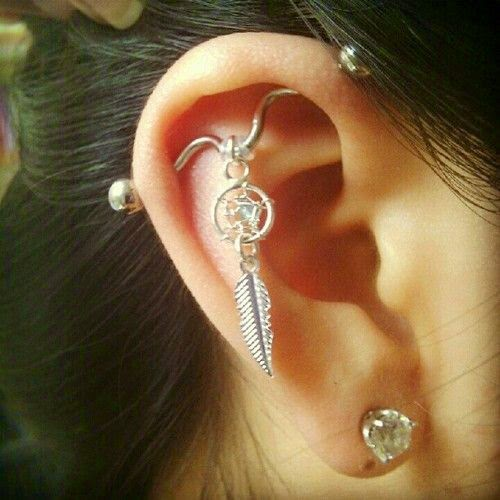 Cute Trendy Earrings For Girls Cool Ear Piercing Designs