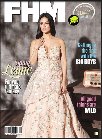 FHM India English Magazine E-book Free Download October Month-2017