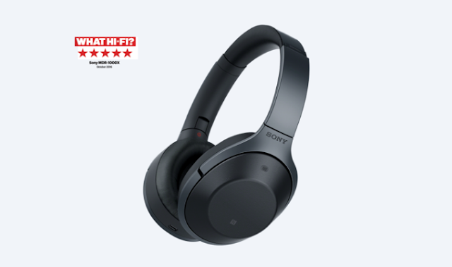 Awarded 5 Stars Sony MDR-1000Xs are one of the best noise-canceling headphones