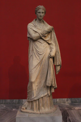 Τα αρχαία αγάλματα δεν ήταν λευκά αλλά πολύχρωμα