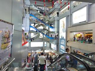 centro comercial,zona de Siam, Bangkok, Tailandia, La vuelta al mundo de Asun y Ricardo, vuelta al mundo, round the world, mundoporlibre.com