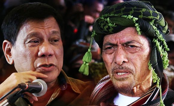 Pres. Rody finally talked with Nur