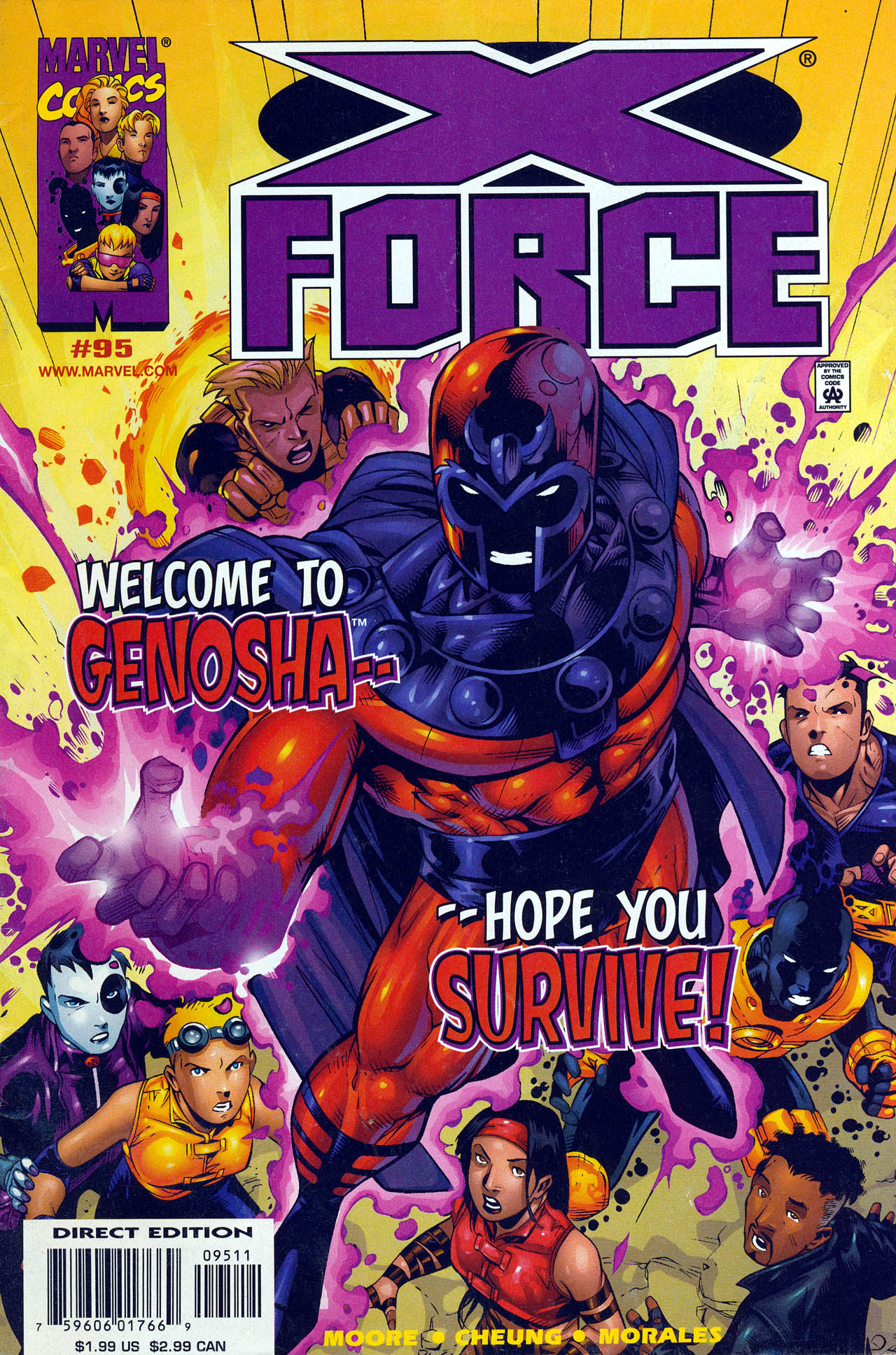 Read online X-Force (1991) comic -  Issue #95 - 1