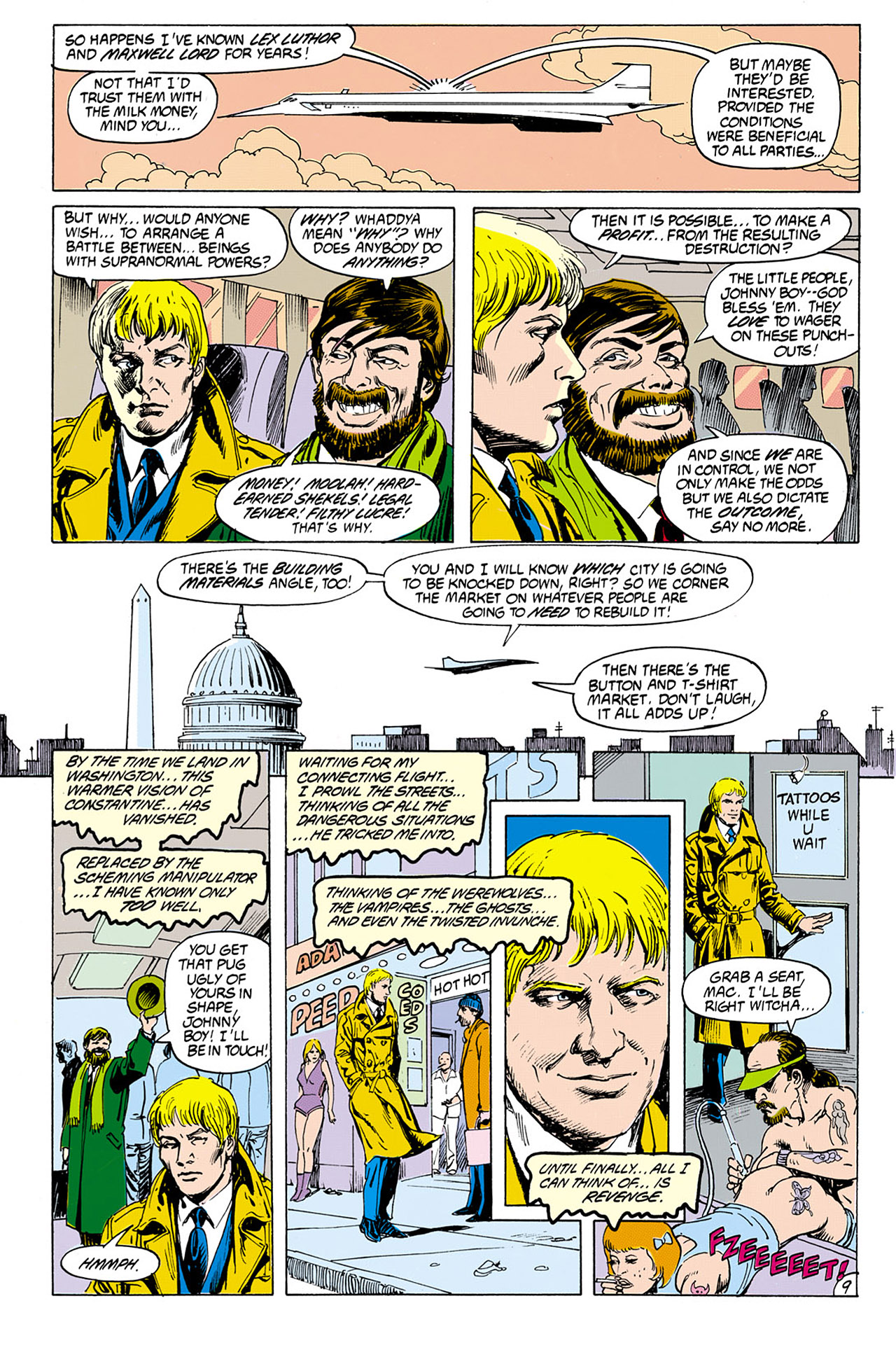 Swamp Thing (1982) Issue #76 #84 - English 9