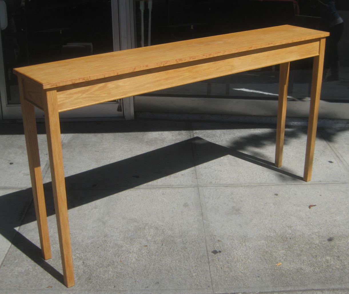 Long Sofa Table: UHURU FURNITURE & COLLECTIBLES: SOLD