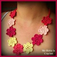 Collar de flores hawaianas
