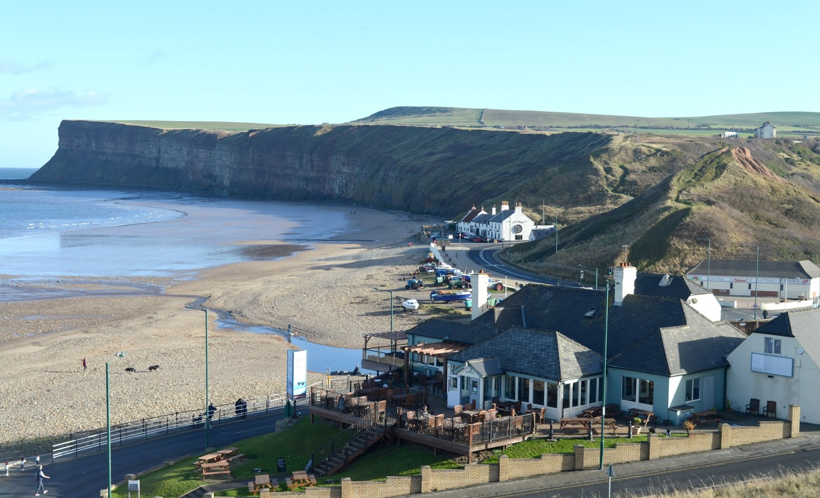 A Day Trip to Saltburn