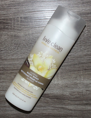 Live Clean Vanilla Oatmeal Soothing Body Wash