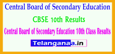 Central Board of Secondary Education 10th Class 2019 Results