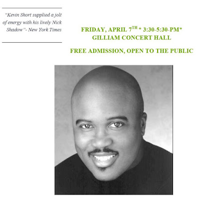 Africlassical Eric Conway An Evening Of Opera At Morgan State University Friday April 7