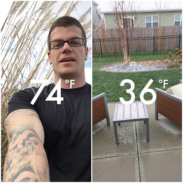 snapchat temp compare
