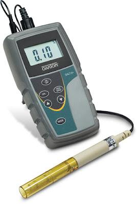 máy đo độ mặn , salt 6+, eutech - singapore , độ mặn nước mắm
