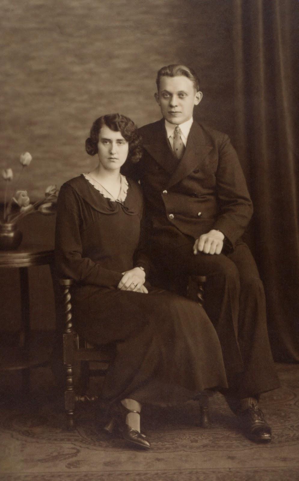 herinneringen aan een opa en oma die je nooit gekend hebt