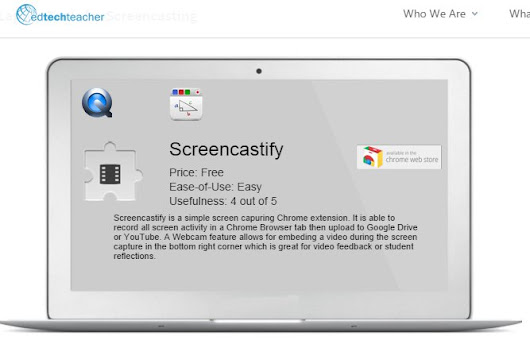 Screencasting made simple with the Screencastify Chrome Extension