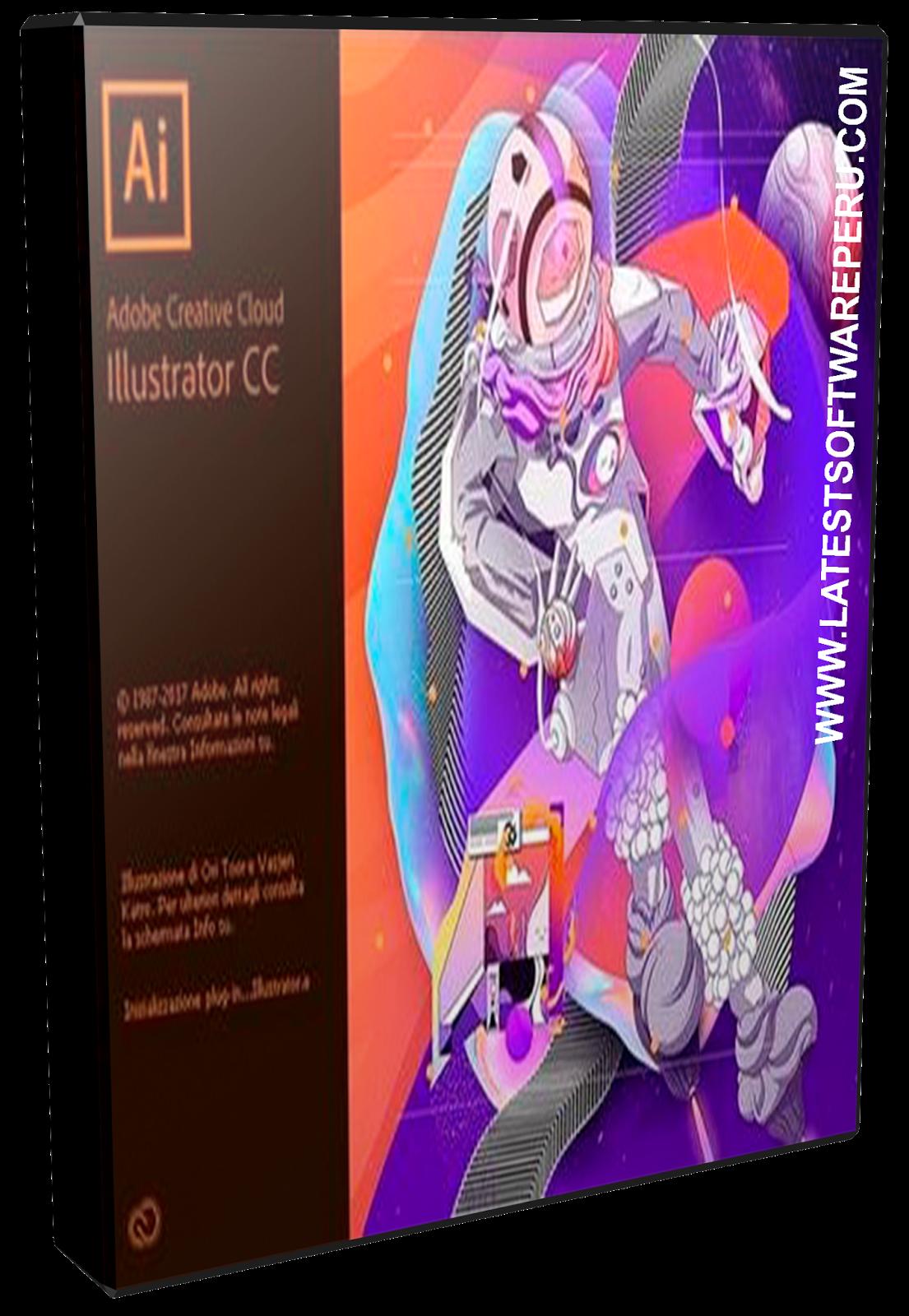 ADOBE ILLUSTRATOR CC 2018 22.0.0.243 (MAC OS X), MULTILENGUAJE CREAR ...