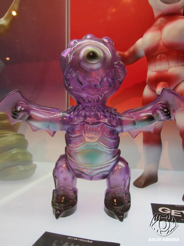 Sofubi: Kaiju Korner: Medicom Toy Exhibition '13