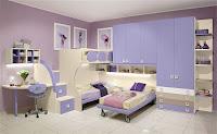Habitación en rosa para hermanas
