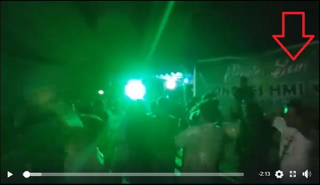 Video joget disko saat kongres HMI disesalkan oleh kader zaman old.