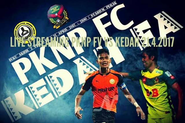 Keputusan PKNP FC vs Kedah 21 April 2017 Piala FA