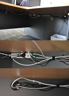 Desk Wire Management