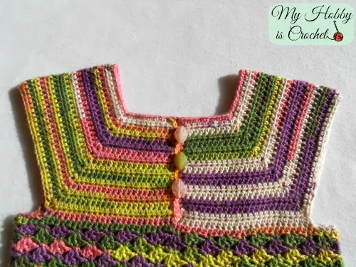 Iris Top - Size 3-5 Years - Free Crochet Pattern