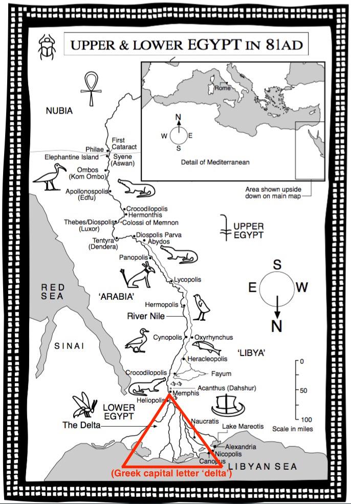Roman Mysteries Western Mysteries Roman Egypt Quiz - Map of egypt quiz