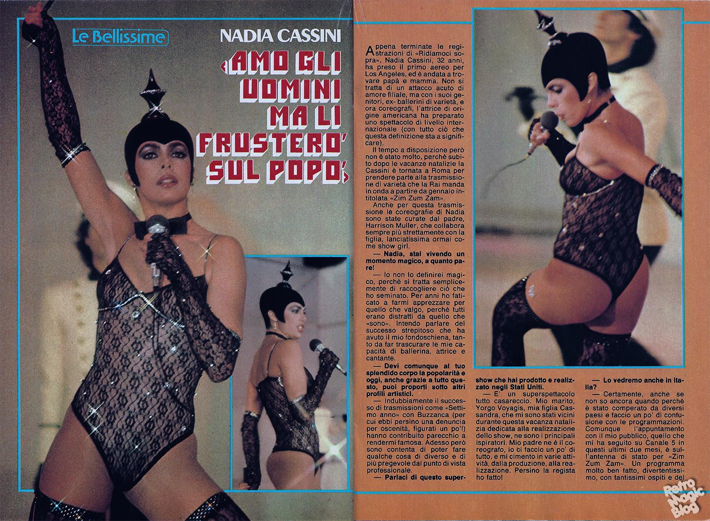 retro magic blog: Retro Chick #12 Nadia Cassini Labyrinth David Bowie