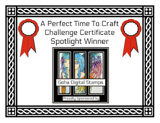2 x A Perfect Time To Craft Spotlight Winner