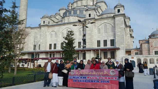 Jamaah Umroh Plus Turki Khazzanah Tour