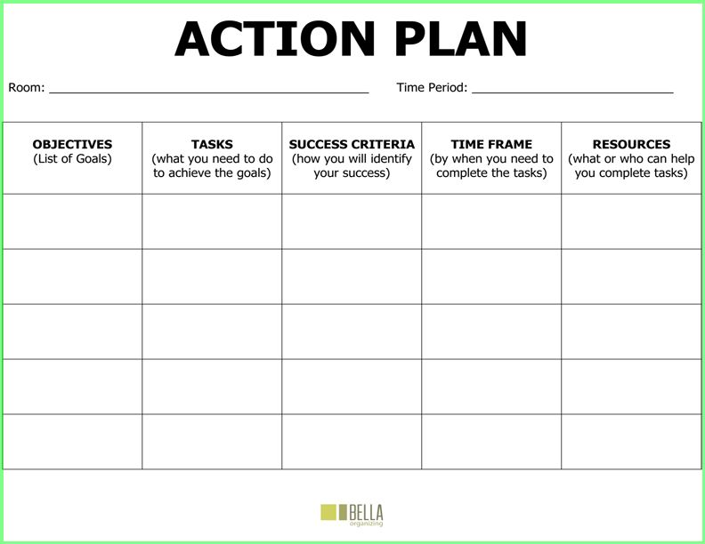Doc900527 Project Action Plan Template Word Doc900527 Project – Business Action Plan Template Word