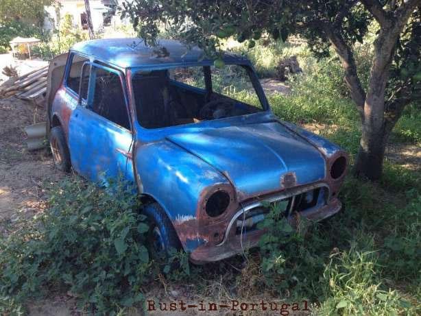 Rip Rust In Portugal 1962 Austin Mini 850 Super De Luxe