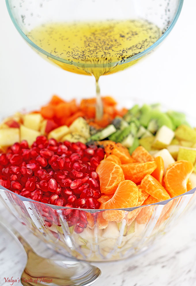winter fruit salad fruits for diet healthy