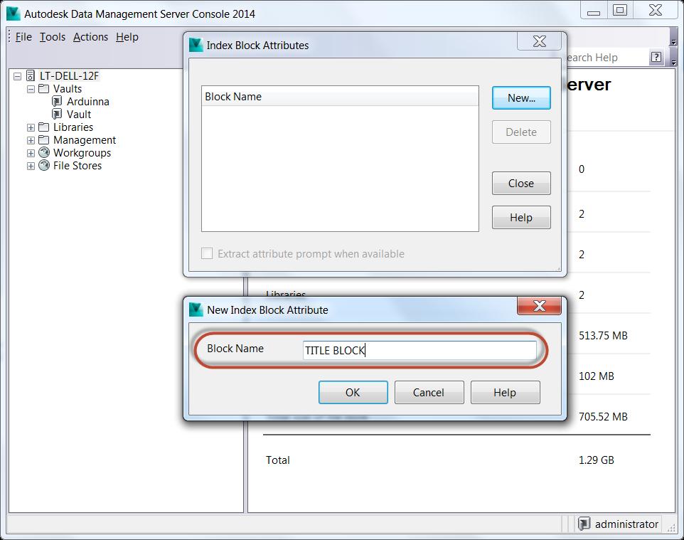 Linking AutoCAD Block Properties into Autodesk Vault