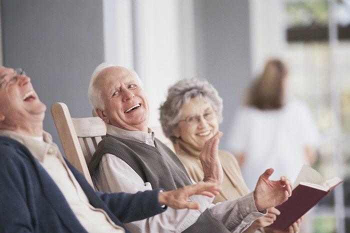 Богатые пенсионеры